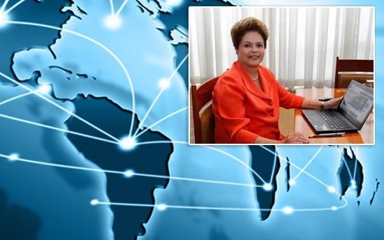 Teles não poderão priorizar conteúdo, diz Dilma em bate-papo