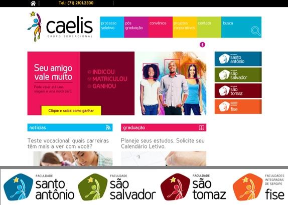 Grupo Caelis e Faculdades